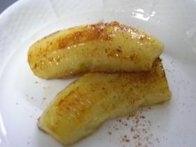バナナのバターソテーのちょっとしたコツ!