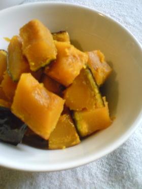 水無し!かぼちゃの煮物
