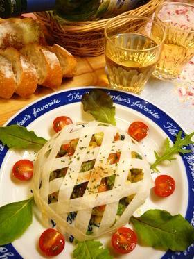 パリパリッ♪バスケットサラダ