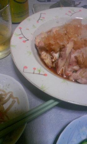 ☆★超簡単☆鳥もも肉のおろしポン酢★☆