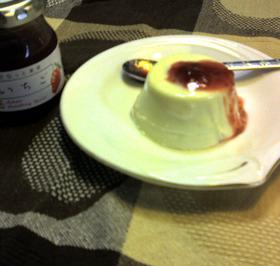 苺マーブル☆レアチーズケーキ