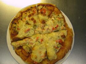 ポテトサラダピザ
