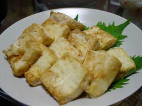 豆腐だけおかず☆豆腐ステーキ