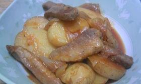 ポークチョップ風☆豚肉ケチャップ煮
