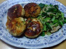 節約レシピ◇おからと鶏ひき肉のつくね