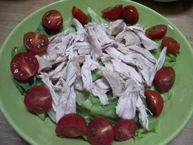 鶏胸サラダ