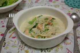 モノグサ料理vol.1☆鮭のミルク煮☆