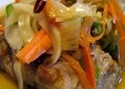 野菜もたっぷり、鯖の焼き浸し(南蛮漬け)