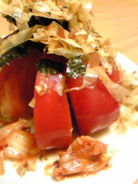 前菜トマト~韓国風~