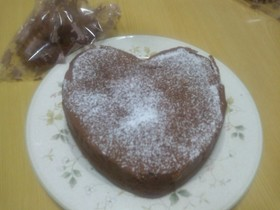 ココアでつくる☆チョコケーキ♪