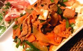 お店の味!美味しい豚キムチ!