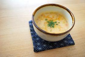 トマトと生姜の具だくさん豆乳スープ