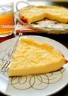 フライパンでとっても簡単♪チーズケーキ