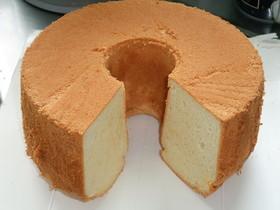 21センチ★プレーンシフォンケーキ