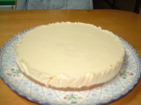おいし~いレアチーズケーキ