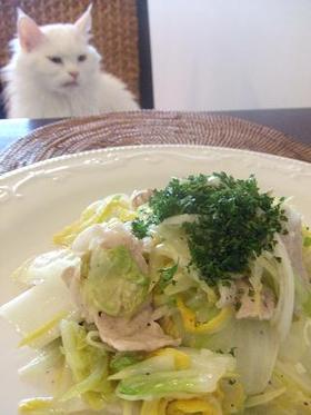 ☆簡単!白菜と豚肉de洋風?!塩炒め☆