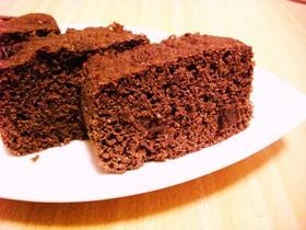 ふわふわしっとり♪濃厚おからチョコケーキ