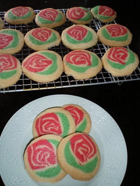 母の日にお花のクッキーで花束を♪