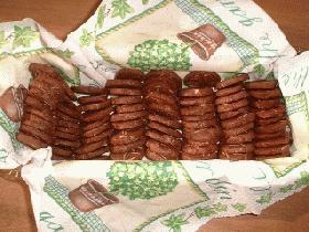 ココアアイスボックスクッキー