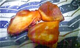 お芋のカリカリ焼き