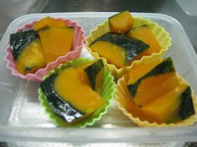 レンジでかぼちゃ煮
