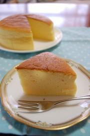簡単ヨーグルトケーキの写真