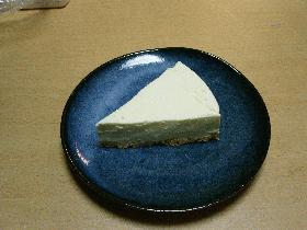 簡単ヘルシーレアチーズケーキ