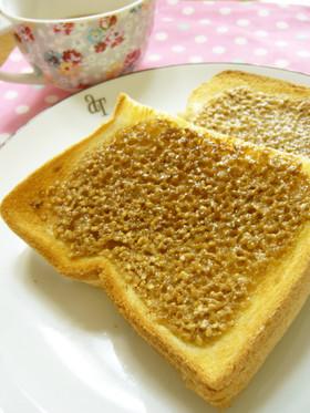 カリカリ♪ごまシュガーバタートースト