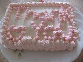 母の日に☆デコレーションケーキ☆