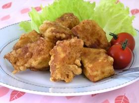 高野豆腐で✩感激唐揚げ☺