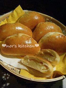 ツヤツヤ❤やわらか❤くり〜むパン