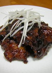 黒醋古老肉(黒酢酢豚)