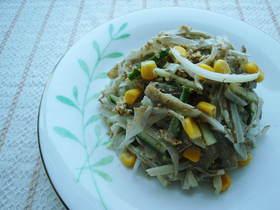 レンジで簡単☆ごぼうサラダ