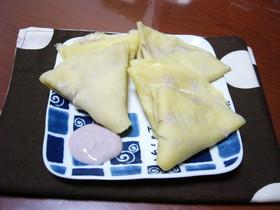 失敗なし!豆腐のレンジクレープ