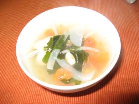 アサリとトマトのほっこりスープ