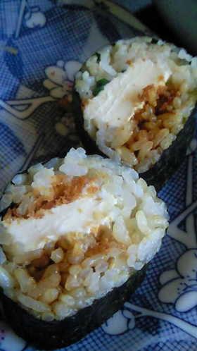 簡単☆クリームチーズカツの洋風巻き寿司