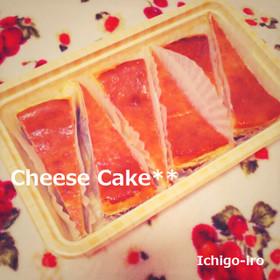 低カロ&低価格★大満足なチーズケーキ