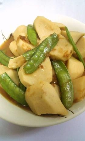 里芋の✿おかか✿味噌✿にんにく風味✿煮