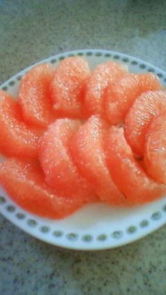 私的☆グレープフルーツの切り方