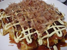 お好み焼き withキムチチーズ