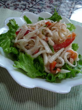 たっぷり食べよう 大根とツナのサラダ