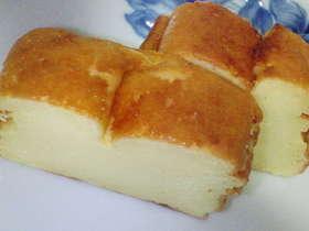 スライスチーズとヨーグルトでケーキ♪