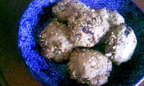プルーンとオリーブオイルの雑穀クッキー