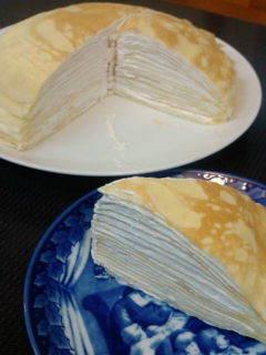 ★ホットケーキミックスでミルクレープ★