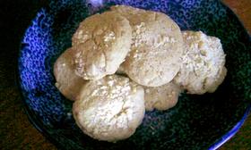 チーズとオリーブオイルの雑穀クッキー
