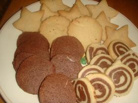 簡単 型抜き&アイスボックスクッキー♪