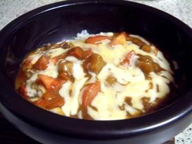 石焼きトマトチーズカレー♪