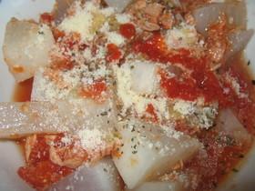 大根とトマトのイタリアンサラダ