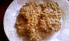 バナナとミューズリーの雑穀クッキー