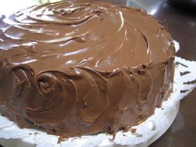 アメリカ~ンなチョコレートケーキ